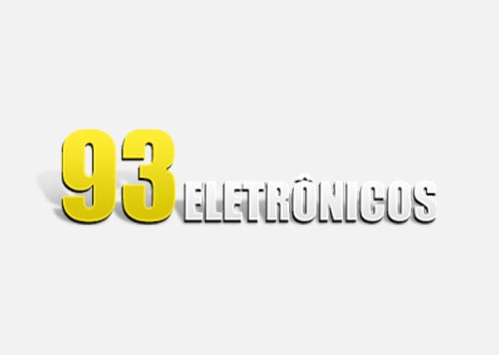logotipo 93 eletrônicos